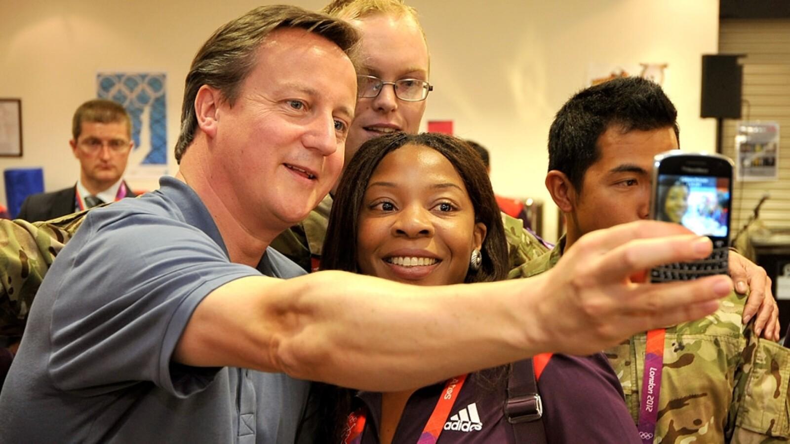 David Cameron Juegos Olimpicos selfie
