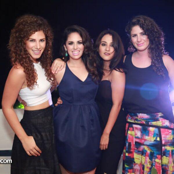 Chantal Chalita,Tamara Gaxiola,Ely Tortoledo y Nicole Chalita