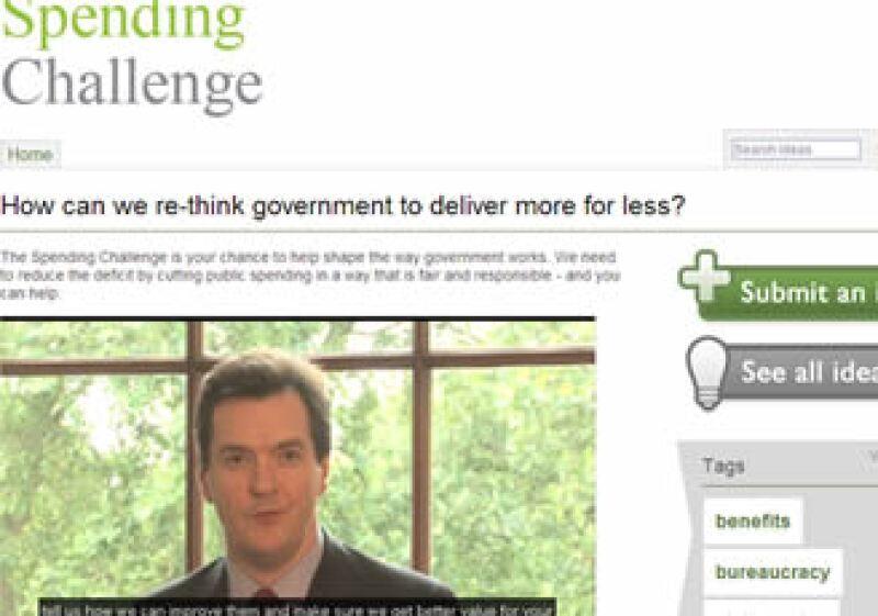La gente también podrá presentar ideas a través de Facebook, dijo Osborne. (Foto: Especial)
