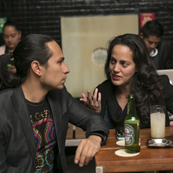 Horacio García e liliana Aviles