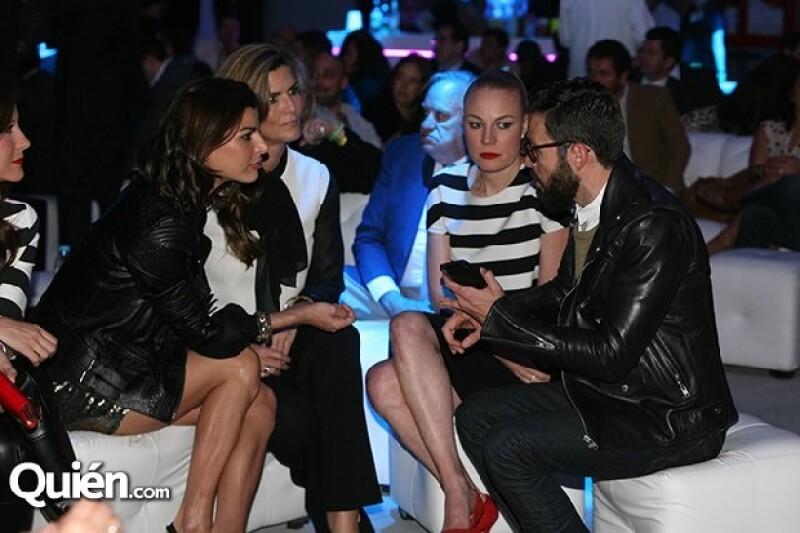 Montserrat Oliver, Barbara Coppel y Dani Magún coincidieron en una noche `Las Vegas´ en el Plaza Condesa.