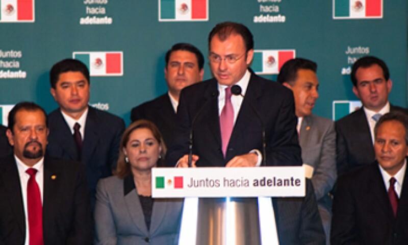 Videgaray dijo que el presidente electo ha expresado su voluntad para apoyar a los países del sur de Europa. (Foto: Notimex)