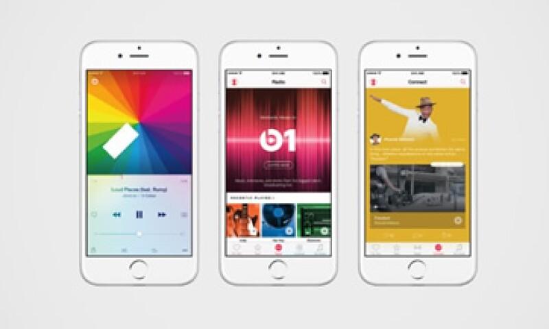 8.5 millones de suscriptores de Apple Music siguen en la etapa de prueba. (Foto: Especial)