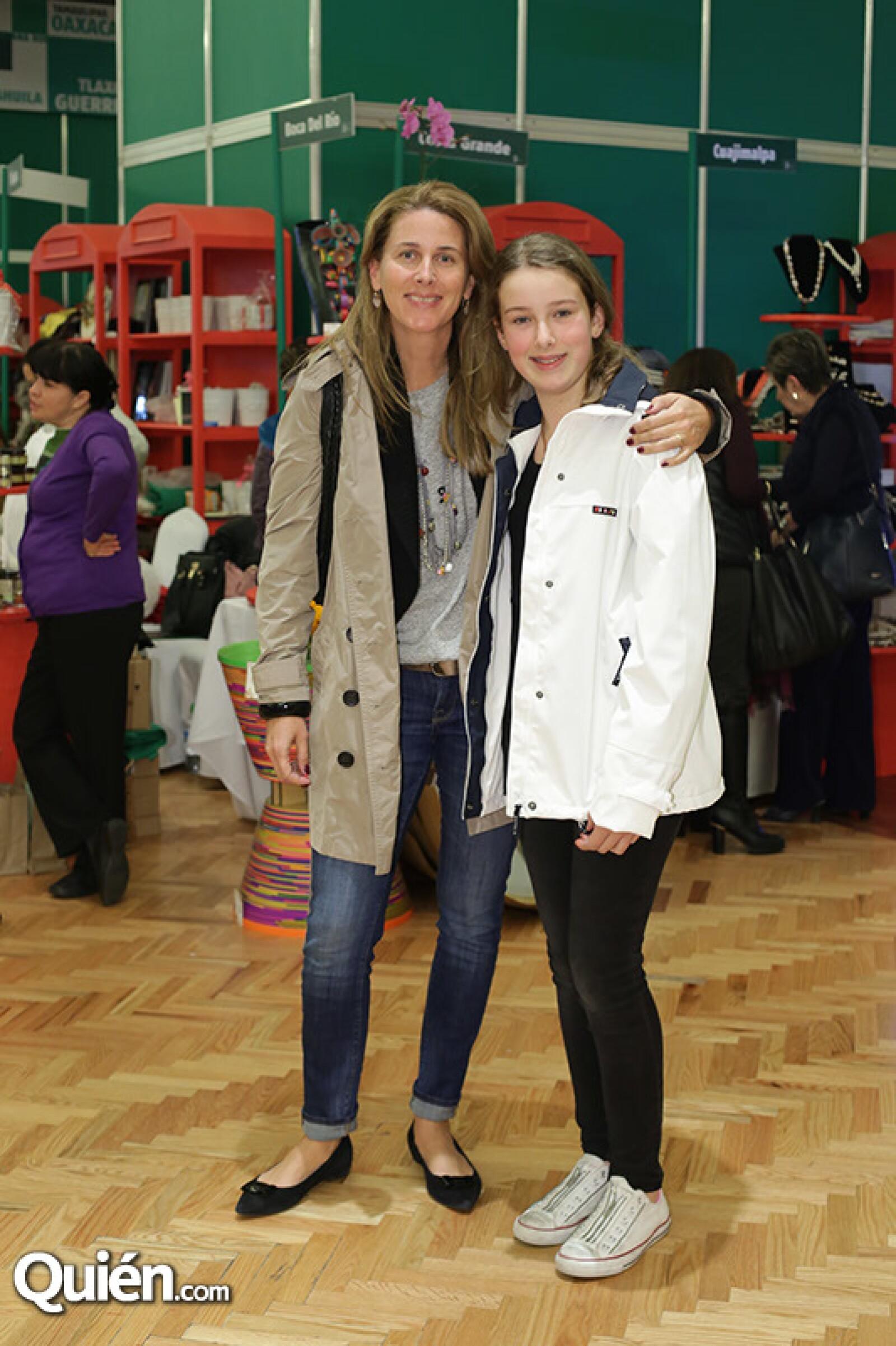 Mercedes y Natalia Álvarez