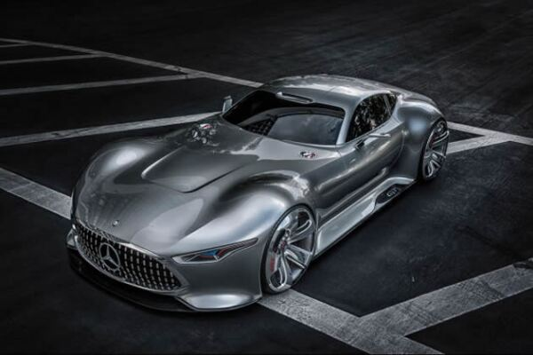 Mercedes-AMG Vision Gran Turismo concept.