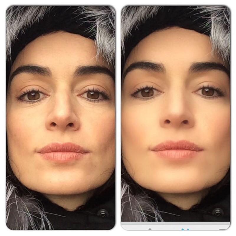 """Una de nuestras """"31 mujeres que amamos"""" dejó claro que no necesita editar sus fotos para lucir su belleza y evidenció a quienes sí lo hacen posteando una comparación en su red social."""