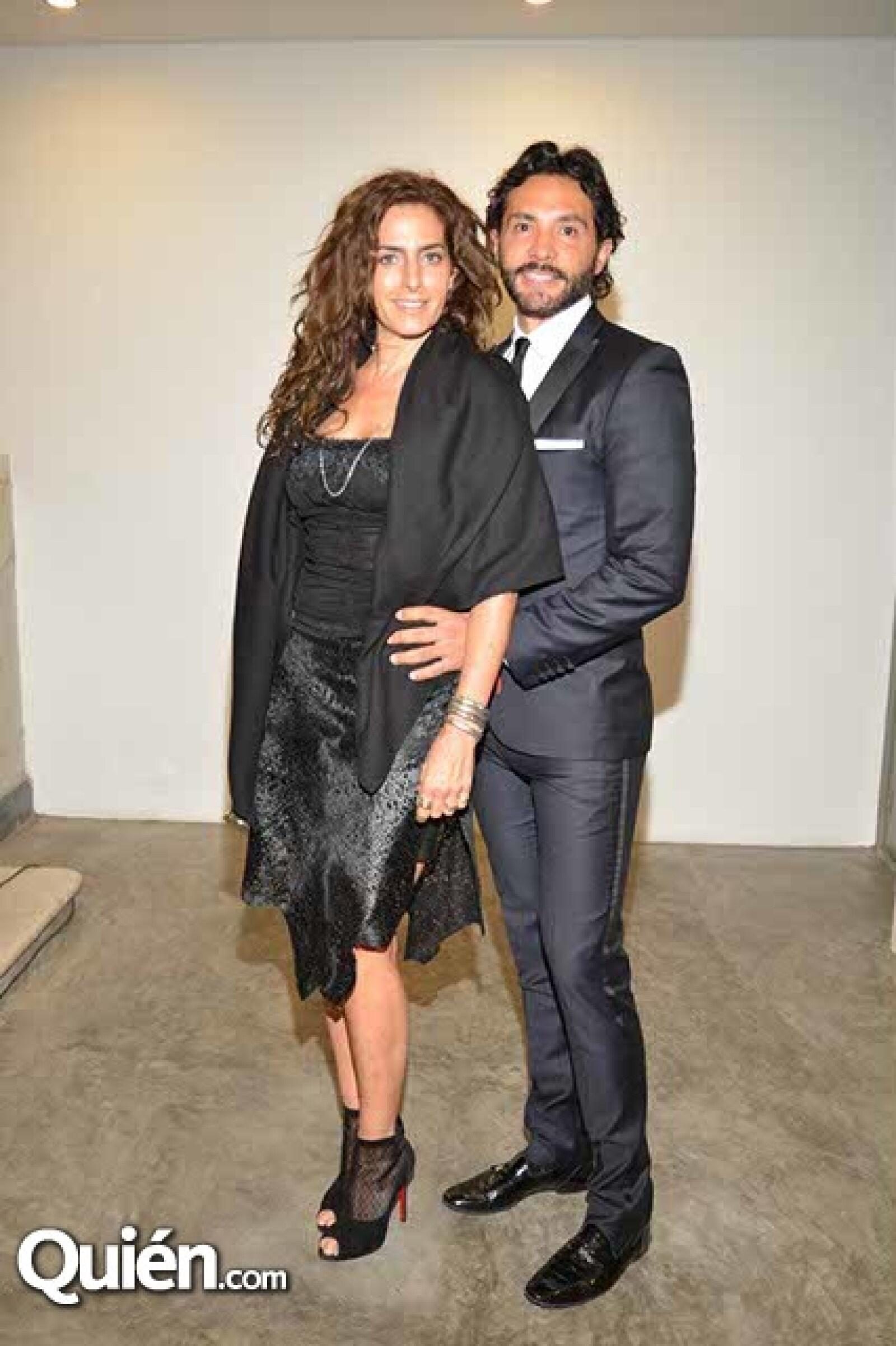 Paola Saad y Alejandro Maldonado.
