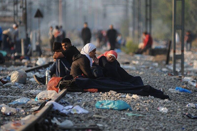 Cerca de 300 mil inmigrantes han cruzado el mar mediterráneo.