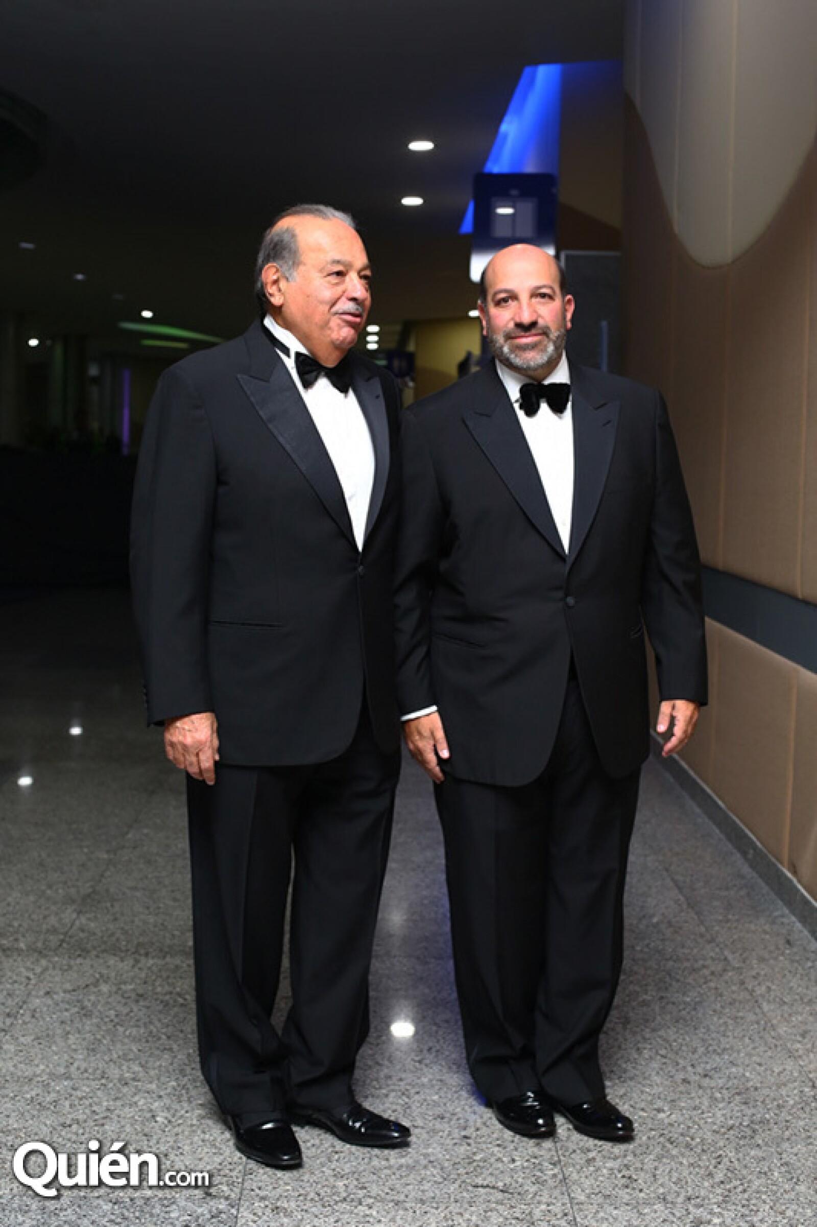 Carlos y Patricio Slim