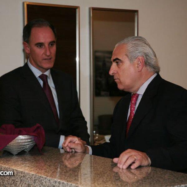 Jaime Alverde y Ángel Losada