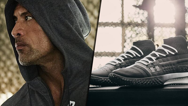 Sneakers Under Armour The Rock