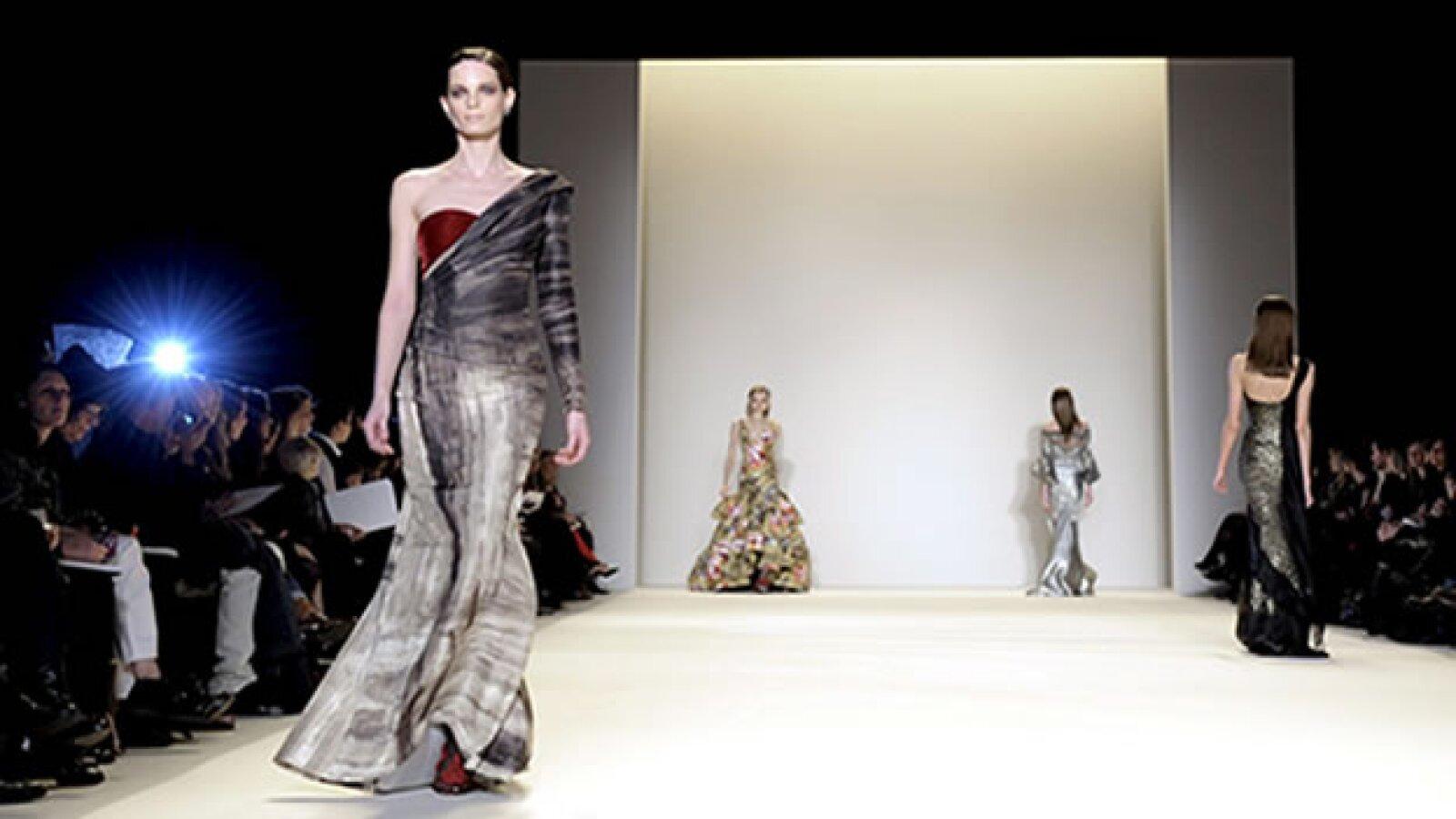 colección de carolina herrera en la semana de la moda de nueva york
