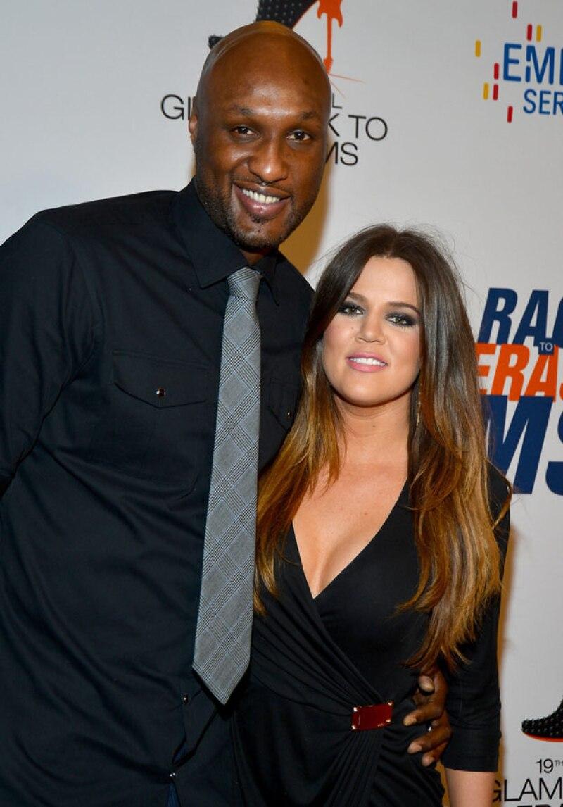 La menor de las Kardashian concedió su primer entrevista desde que su el ex basquetbolista ingresara al hospital, aclarando los rumores de una reconciliación.