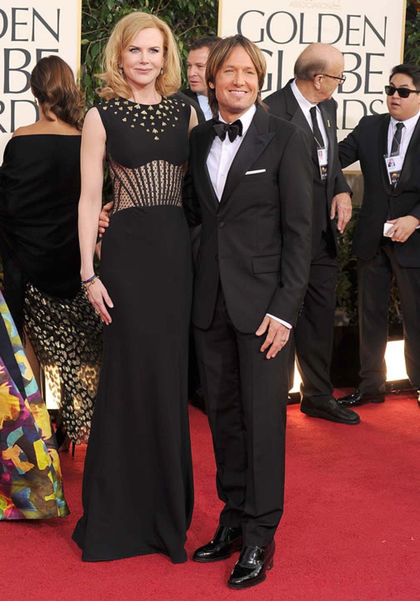 Parece ser que esta es una de las debilidades de Nicole Kidman pues luego de años con Tom Cruise repitió la fórmula de baja estatura con Keith Urban.