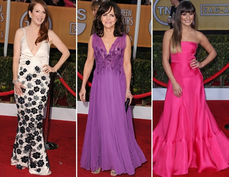Naomi Watts, Nicole Kidman y Jennifer Lawrence encarnaron el allure de Hollywood mientras que Sally Field, Julianne Moore y Lea Michele nos desconcertaron con sus elecciones.