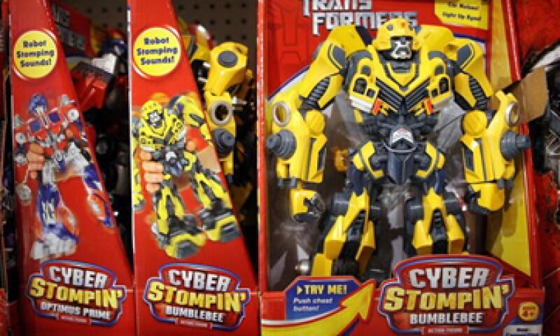 Hasbro tiene los derechos de los juguetes de Transformers, Star Wars y Marvel. (Foto: Getty Images)