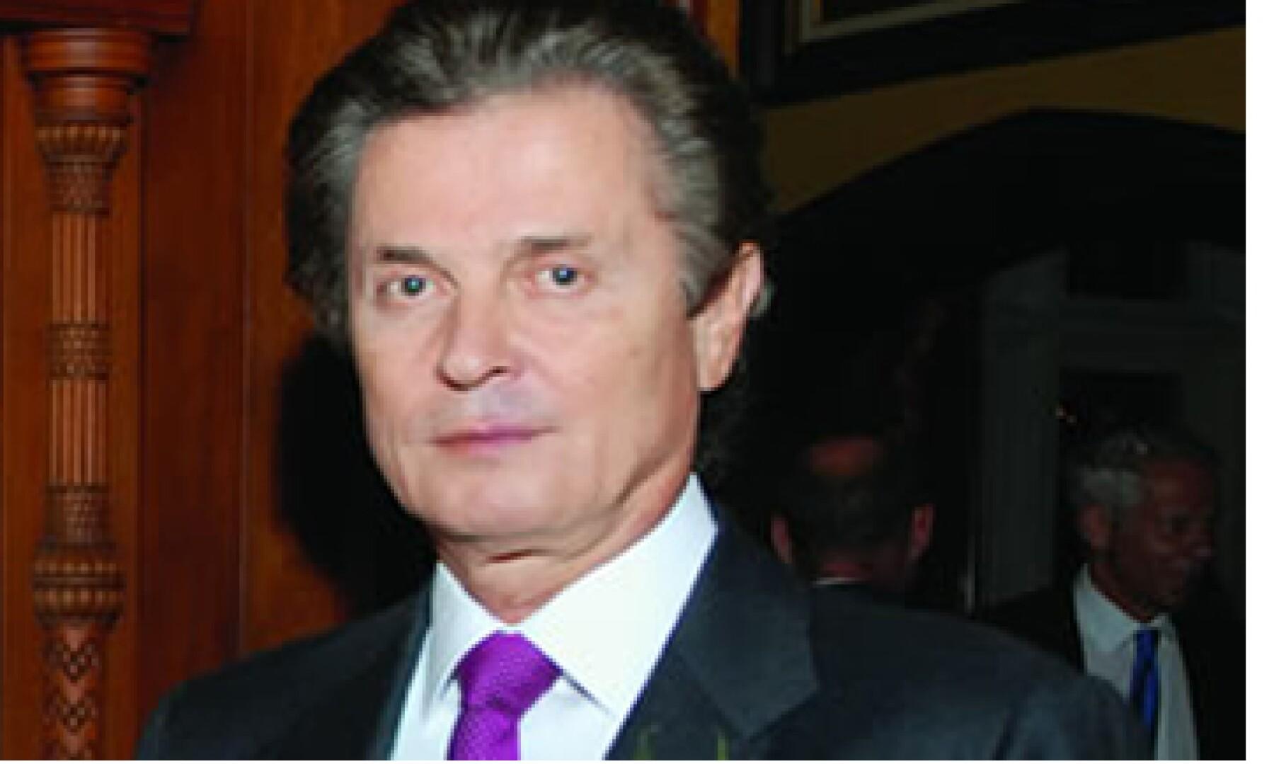 El presidente de Grupo Vitro ocupa el lugar 36 del ranking 2011 de Los 100 Empresarios más Importantes de México. (Foto:  Cortesía Revista Quién)