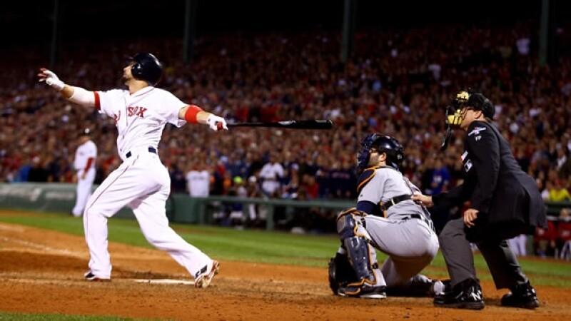 Los Medias Rojas de Boston ganan la Liga Americana