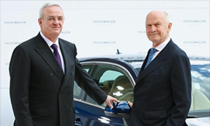 Martín Winterkorn y Ferdinand Piëch, los hombres detrás de la VW. (Foto: Cortesía Fortune)