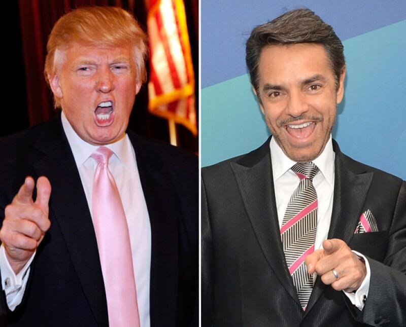 El actor mexicano declaró a Jorge Ramos que responderá al discurso antiinmigrante del republicano con humor.