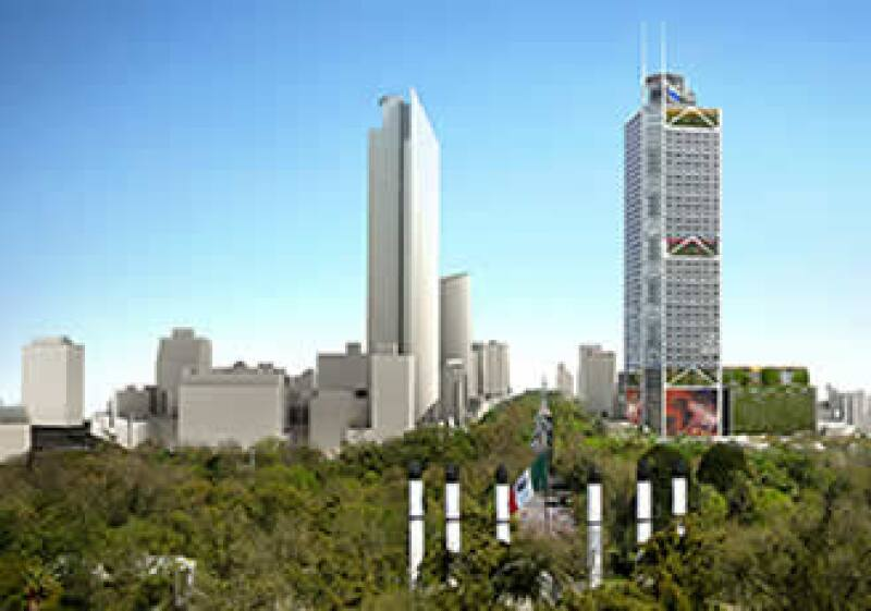 La Torre BBVA Bancomer será un proyecto sustentable. (Foto: Cortesía BBVA Bancomer.)