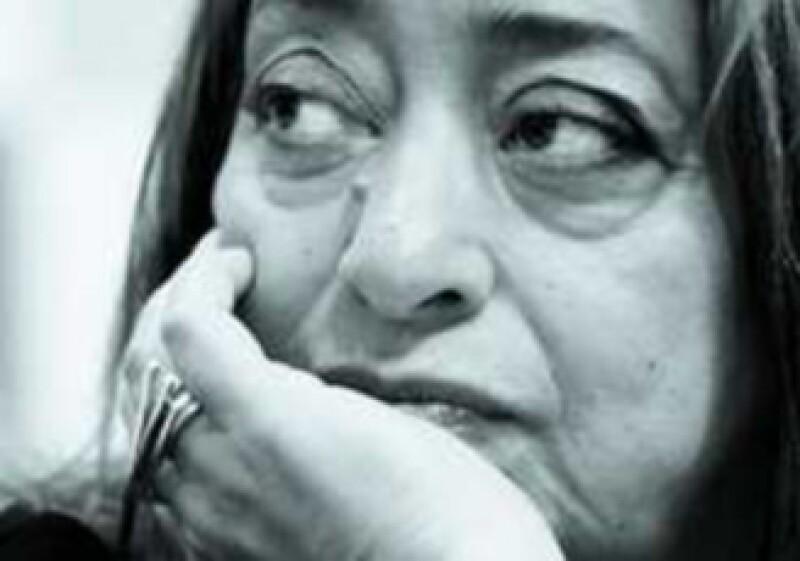 Zaha Hadid recibirá el nombramiento oficial de Artista UNESCO para la Paz, en la ciudad de París, Francia. (Foto: Pamela Barrón)