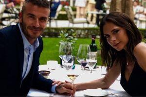 David y Victoria celebran su aniversario