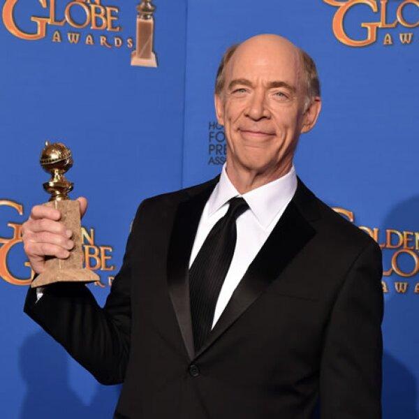 J.K. Simmons fue el primer ganador en la categoría Mejor actor de reparto en la película Whiplash.