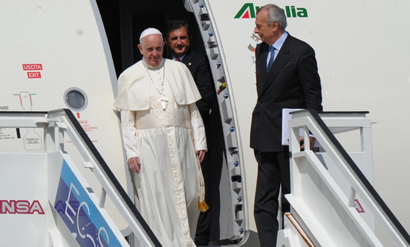 El papa hizo una visita a la capital cubana en menos de cinco meses, antes de llegar a México.