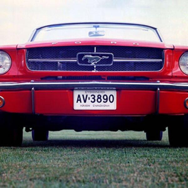 El Mustang original debutó un 17 de abril de 1964.