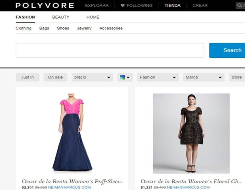 Este es el precio del vestido que portó la primera dama de México, según el sitio de moda Polyvore.