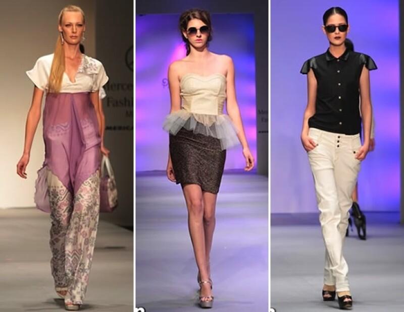 La Mercedes Benz Fashion Week arrancó con los desfiles de Pineda Covalín, Pink Magnolia, Lorena Saravia y David Salomón.