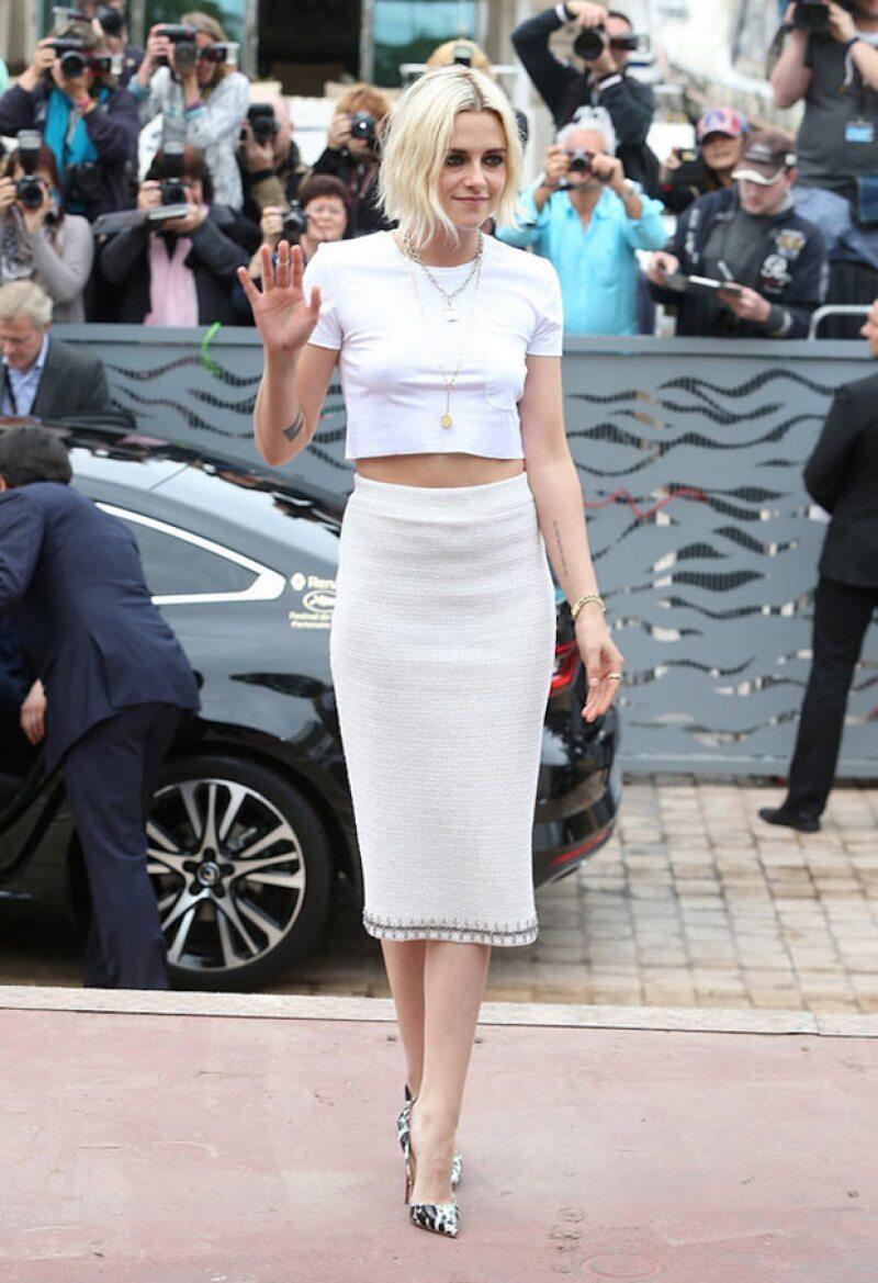 La actriz usó este diseño Chanel que, en un principio no tenía que verse así.