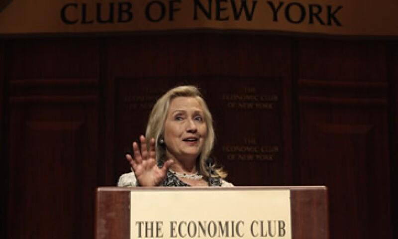 La secretaria dijo que el liderazgo global de Estados Unidos dependería de que el país mantenga su poder económico. (Foto: Reuters)