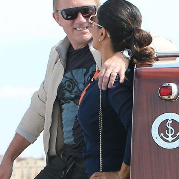 Salma y Francois Henri Pinault se veían muy enamorados.