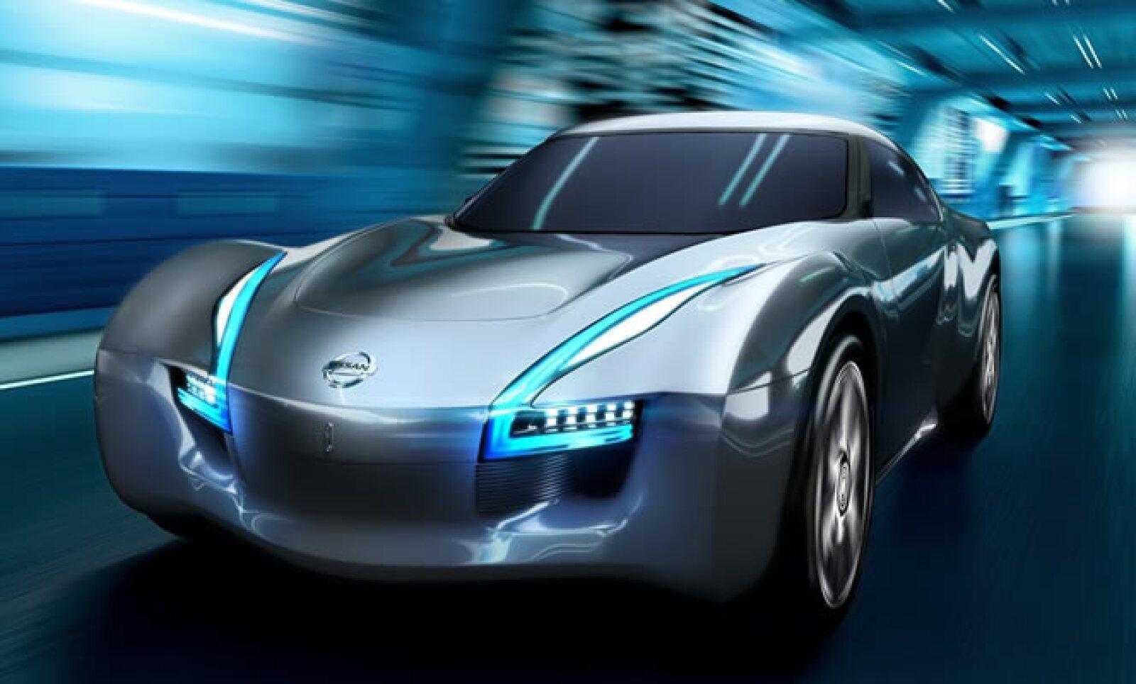 La automotriz japonesa presentó dos modelos en el AutoShow de Chicago: el primero, un concepto ecológico, que utiliza parte de la tecnología del Nissan Leaf, aunque con una carrocería más deportiva.