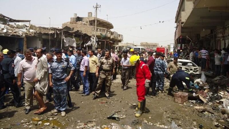 iraq explosiones mercado bagdad
