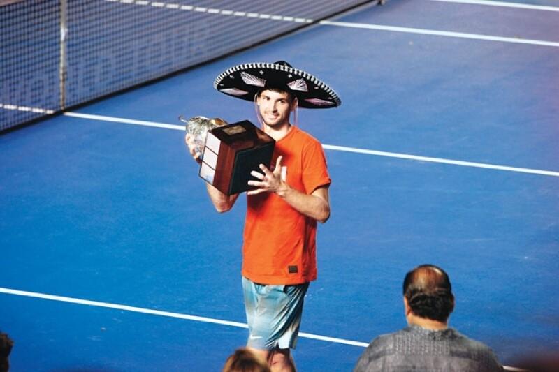 Entre rumores de una ruptura amorosa Maria Sharapova y Grigor Dimitrov, la pareja de tenistas más hot del momento, forman parte de los jugadores que participarán en el AMT 2015.