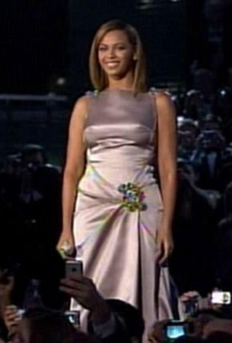 Beyoncé el día de la toma de protesta de Obama