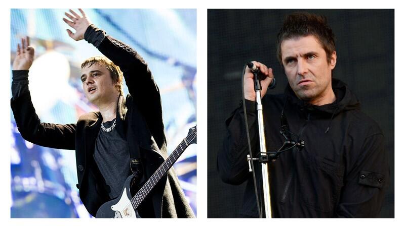 Pete Doherty reta a Liam Gallagher