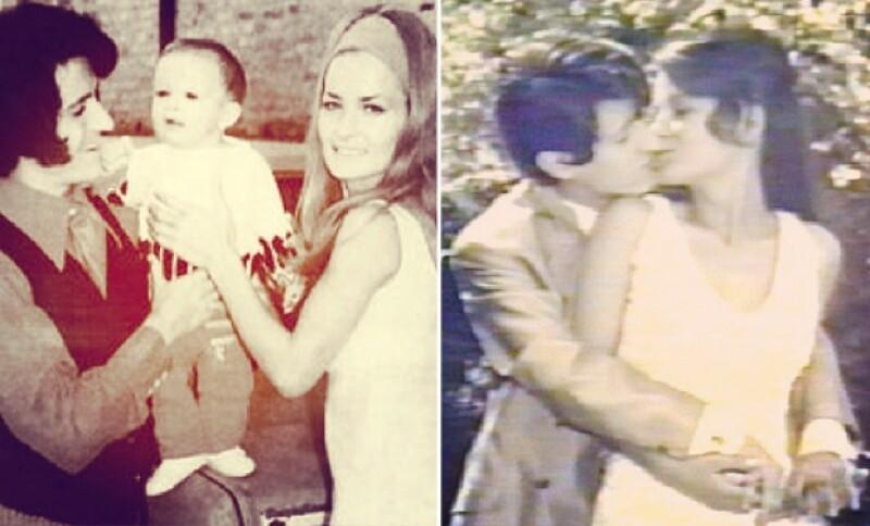 Alejandro Basteri compartió estos lindos momentos con sus padres.