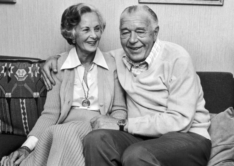 Esta foto fue tomada en 1976 justo unos días antes de que Lilian y Bartil pudieran casarse.