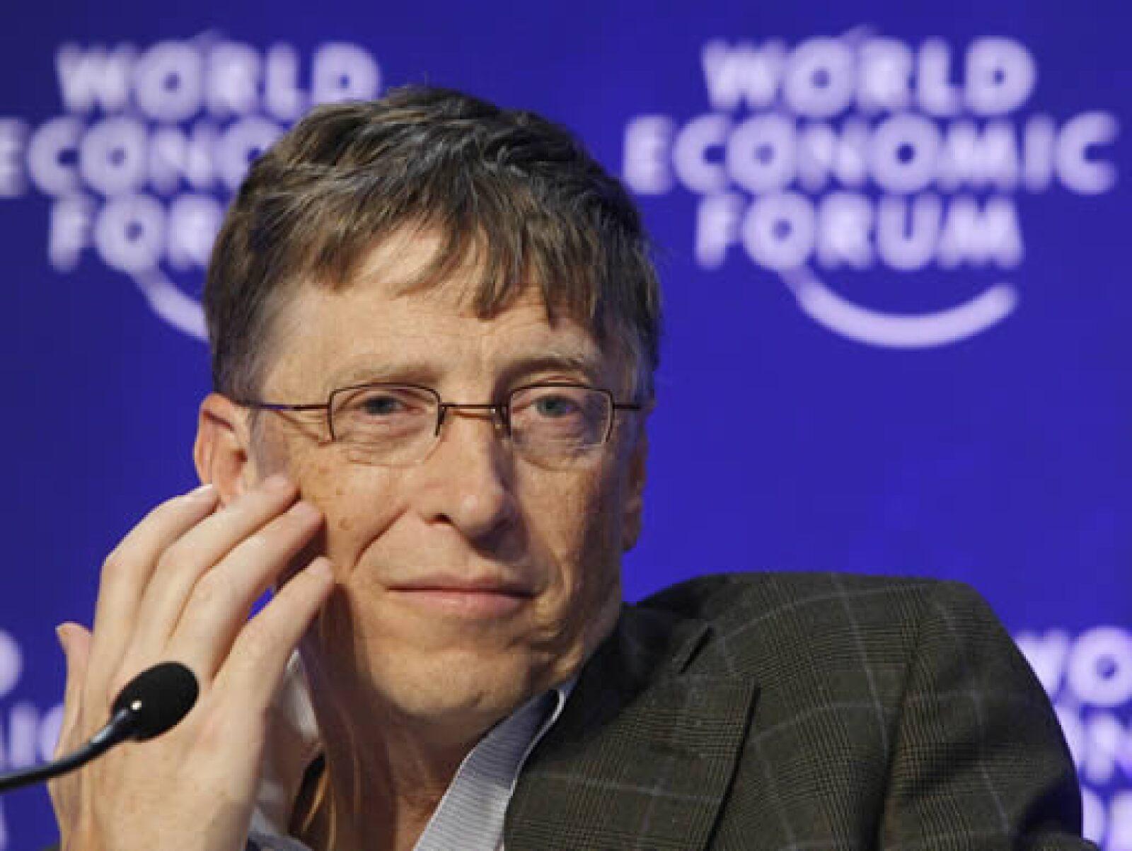 Bill Gates, fundador de Microsof, señaló que la crisis durará al menos cuatro años y que la innovación en ciencia y tecnología podría ayudar al mundo a salir de la recesión económica.