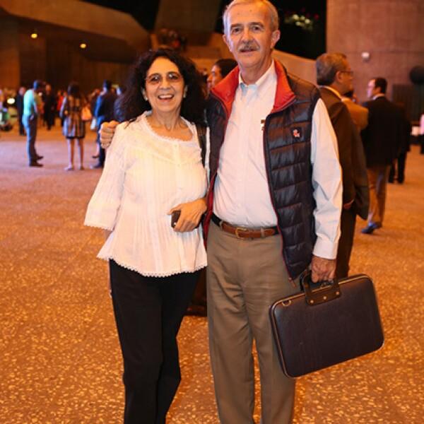 Gabriela Aillaud y Santiago Vivanco