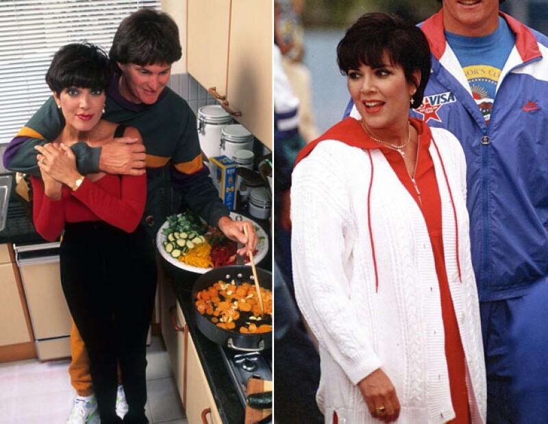 A principios de los noventa, Kris ya capturaba la atención más que Bruce Jenner.