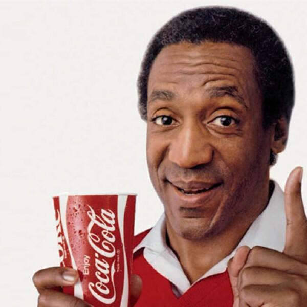 El actor y comediante estadounidense Bill Cosby también participó en una publicidad de la firma.