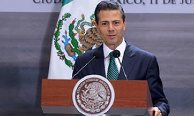 El presidente adelantó los tiempos de la #ReformaEnergética. (Foto: Notimex)