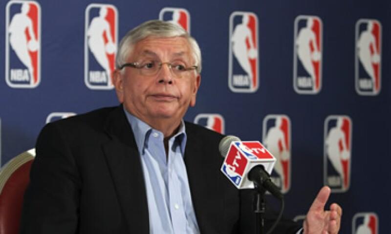 El comisionado de la liga, David Stern, dijo que no tenía nada que anunciar en términos de posibles cancelaciones de partidos. (Foto: AP)