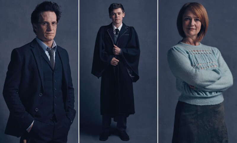 Así lucirán Harry Potter, Albus Severus y Ginny Weasley en Harry Potter and the Cursed Child.