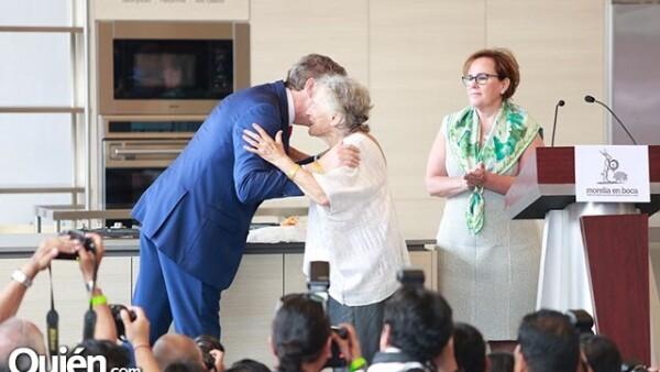 Duncan Taylor,Embajador del Reino Unido y Catherine Ettinger